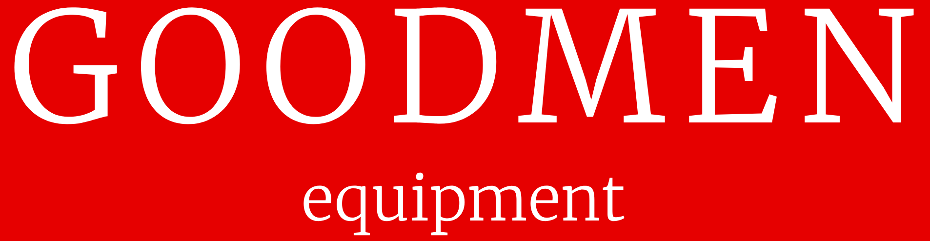 Goodmen equipment