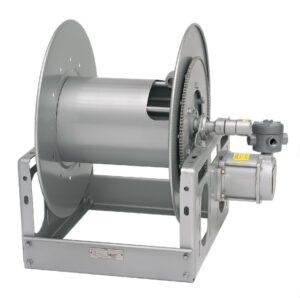 """Hannay 6000-SERIE Handmatige of elektrische oprolbarehaspels voor het hanteren van enkele 1/2 """"tot 1"""" ID-slang"""