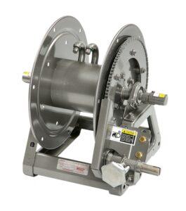 """Hannay 2400 REEKS Handmatige (MX) of elektrisch oprolbare gaslashaspels voor het hanteren van dubbele 1/4 """"tot 3/8"""" lasslang"""
