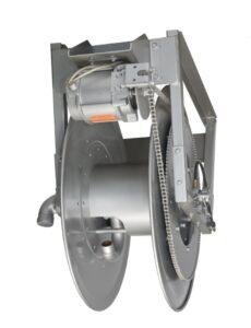 """Hannay IV-SERIE Elektrisch oprolbare haspels voor plafon installatie voor het hanteren van enkele 1-1 / 4 """"ID tot 2"""" ID-slang. Aardolielevering"""